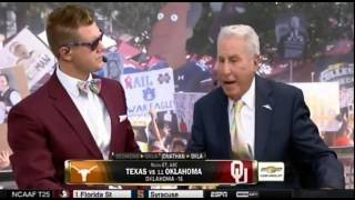 Jonathan Papelbon football predictions on College Gameday