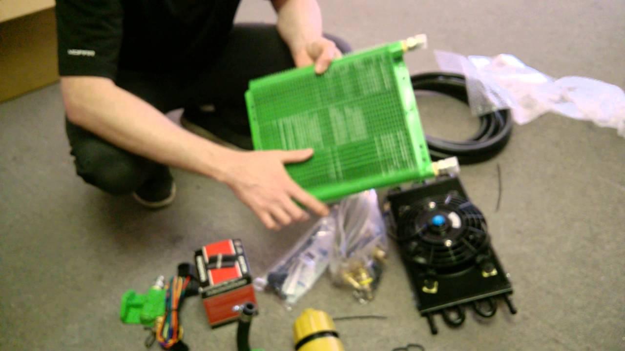 D J Diesel Hd Oil Cooler Unboxing 3 0l Vm Ecodiesel Youtube