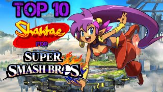 Top 10 Reasons We Need Shantae For Super Smash Bros.!