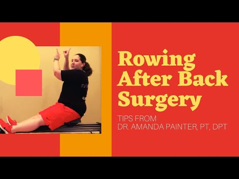 Rowing After Back Surgery