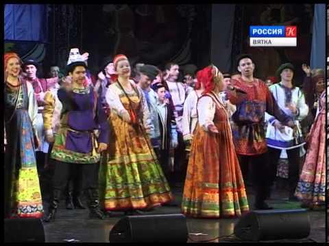 Новости культуры ВЯТКА (24.03.2014) (ГТРК Вятка)