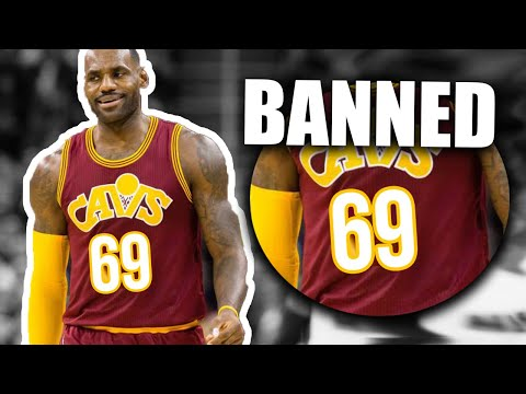 Banned Shoes & Clothing In The NBA For Strange Reasons