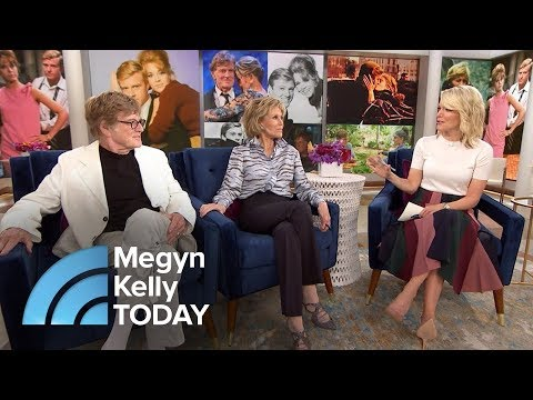 Jane Fonda Recalls The Moment She Knew Robert Redford Would Be A Star  Megyn Kelly TODAY