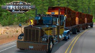 Scrapped Cars | Triple Transportation | Kenworth W900A - American Truck Simulation