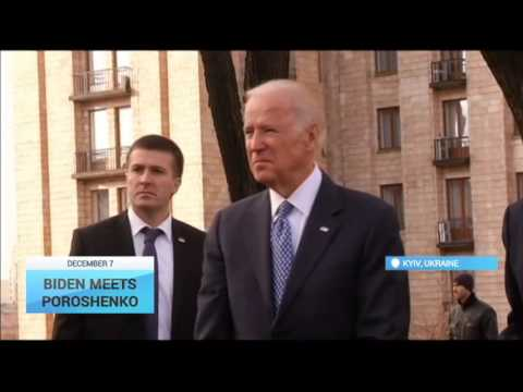 Biden Meets Poroshenko: US Vice President arrives in Ukraine for a two-day visit