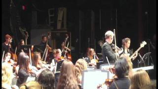 Led Zeppelin - Kashmir  - New Canaan High School Orchestra 5-11-11