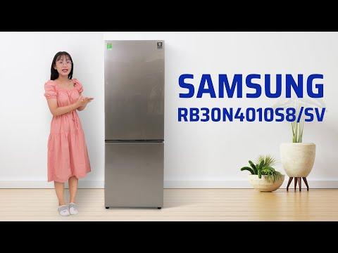 Trên tay tủ lạnh Samsung 2 ngăn 310 lít, ngăn đông dưới