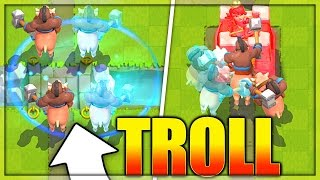 QUAD HOG TROLL DECK!! Clash Royale