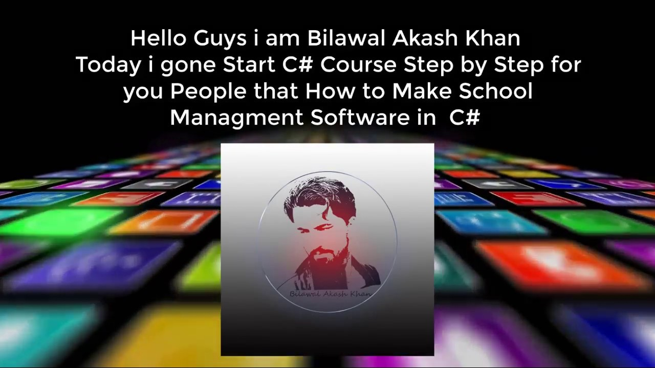 C Tutorials Lecture 1 How To Make School Management System Youtube