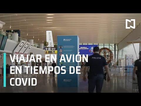 Viajar en avión en tiempos de coronavirus, la paparrucha del día - Punto y Contrapunto