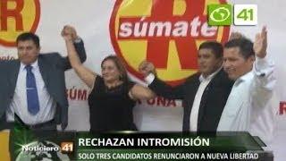Rechazan intromisión de Richard Acuña en partido Nueva Libertad - Trujillo