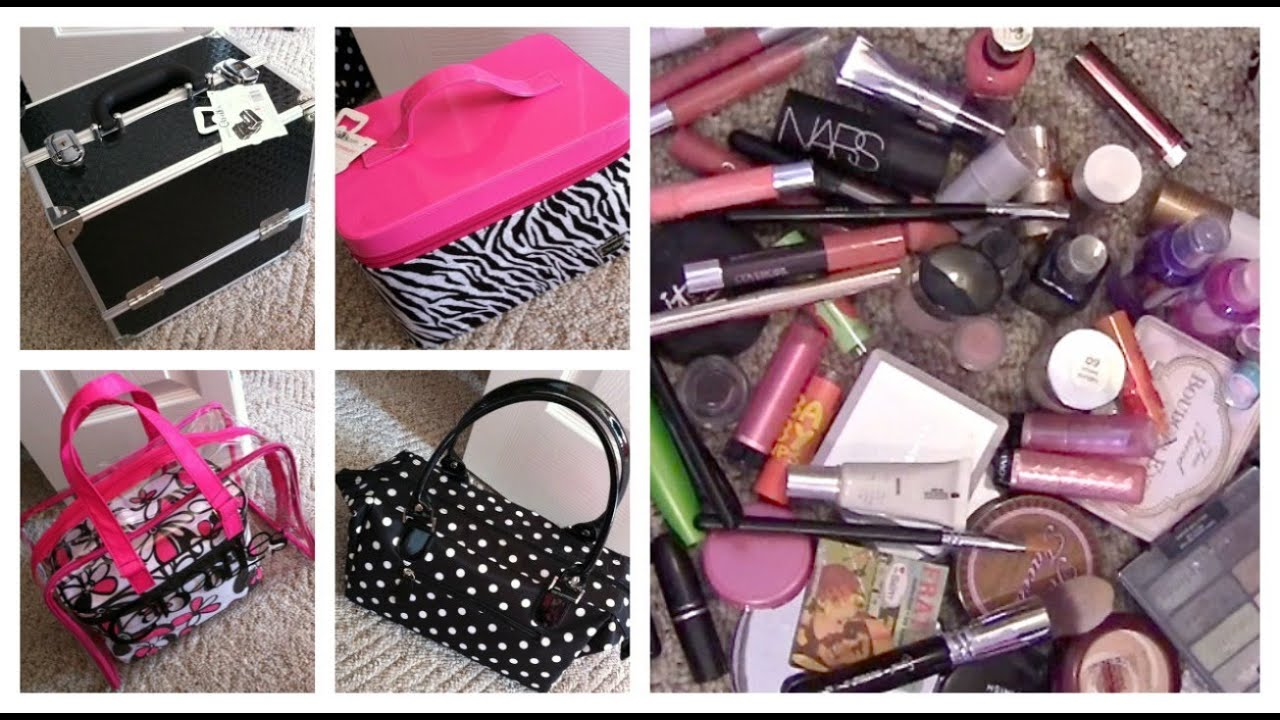 Makeup Storage Travel Using Caboodles