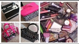 Makeup Storage/Travel Using Caboodles