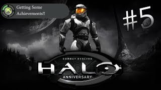 (Stream) Halo CEA: Getting Some Achievements!! #5 - The Birth of a Spartan