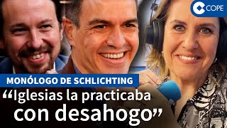 """Schlichting desmantela a Sánchez y la """"purga estalinista"""""""