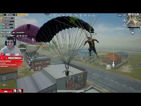 PAYTM ON SCREEN   Pubg Mobile Punju VS Petta   చికెన్ డిన్నర్ నాటు కోడి Live Stream #252