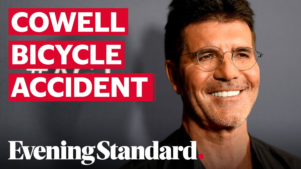 Simon Cowell breaks back while biking