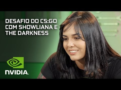 Desafio do CS:GO com Showliana e The Darkness