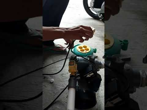 Review pompa booster sanyo PWH-137C (modifikasi)
