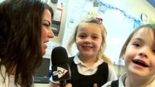 Ferryhill Primary School Kids talk Santa - STV