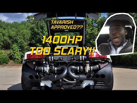This 1400hp Twin-Turbo Lamborghini Gallardo is INSANELY SCARY!!