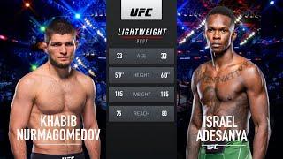 UFC 255: Khabib Nurmagomedov Vs Israel Adesanya