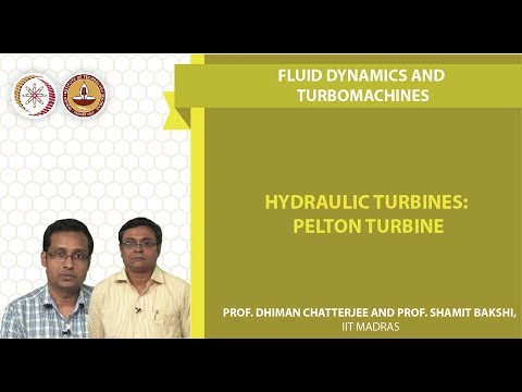 Week7Lec03 Hydraulic Turbines  Pelton Turbine