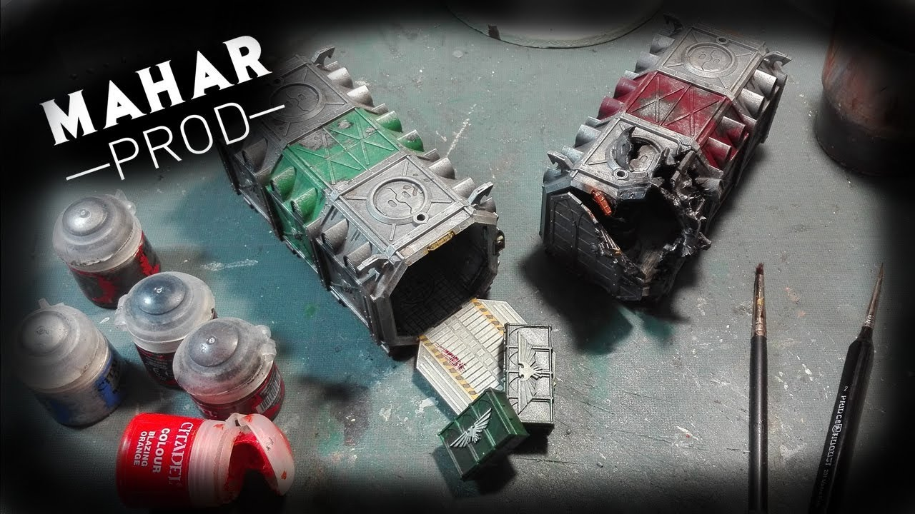 Peindre Decor Warhammer Tuto Decor 11 How To Paint Munitorum Armoured Container