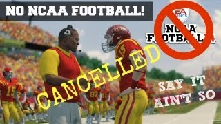 Breaking News: NO NCAA Football Game Next Year! (EA Cancels College Football)