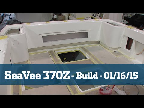 SeaVee 370Z Follow The Build Part #3 - Florida Sport Fishing TV