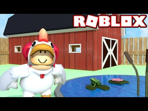 ROBLOX! CHICKEN SIMULATOR! This Is My Farm Now! | Amy Lee33