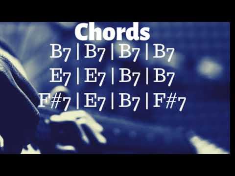 Blues Shuffle Jam Track in B