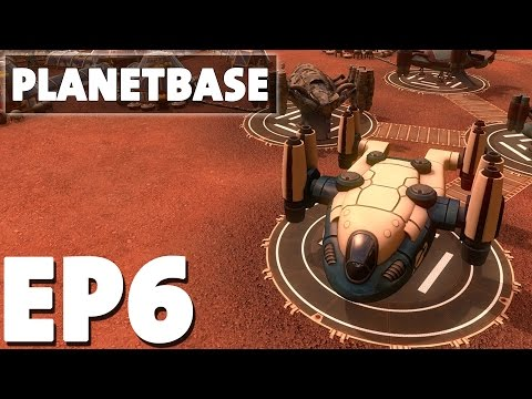 Let's Play Planetbase Episode 6 - Solar What Now?! - Base Building Management Game