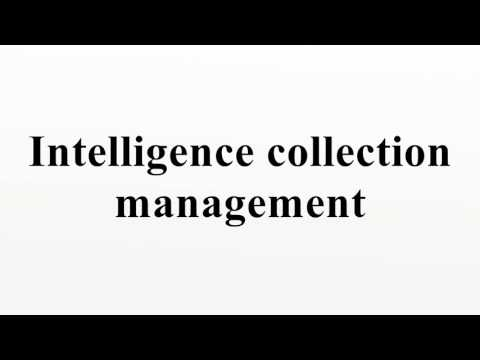 Intelligence collection management