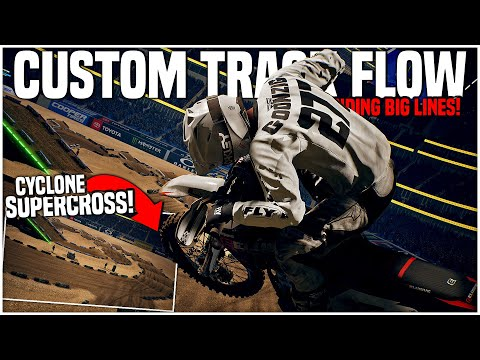 The CYCLONE SUPERCROSS Track is WILD! (Monster Energy Supercross: The Official Videogame 3) |