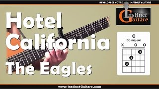 Hotel California à la guitare - The Eagles - Introduction