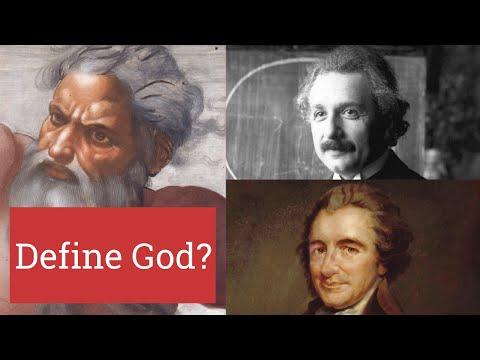 How do you define God?