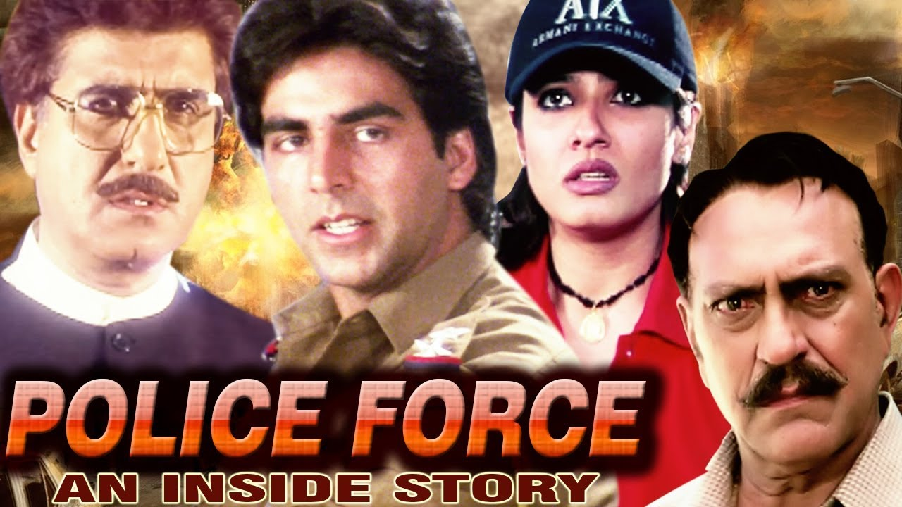 Police Force - An Inside Story Full Movie HD | Hindi Action Movie | Akshay Kumar | Raveena Tandon