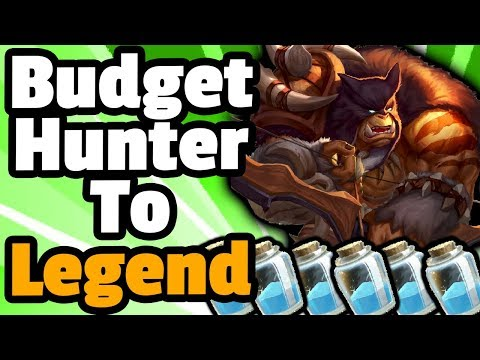 Budget Face Hunter To Legend - Hearthstone Descent Of Dragons