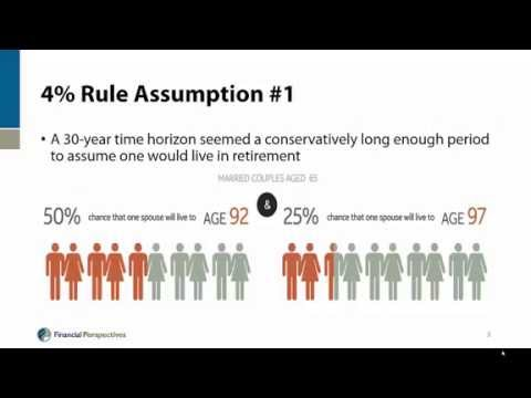 Retirement Planning - Beyond the 4 Percent Rule