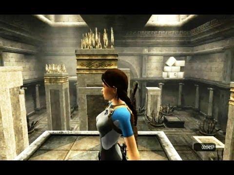HD Tomb Raider Anniversary Time Trial (Midas's Palace 2)