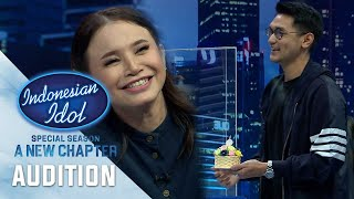 Perasaan Teh Oca Nanonano Setelah Dapat Kejutan Special Dari Afgan - Audition 4 -Indonesian Idol2021