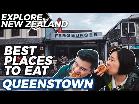 BEST PLACES TO EAT IN QUEENSTOWN | Queenstown Food Guide |  New Zealand