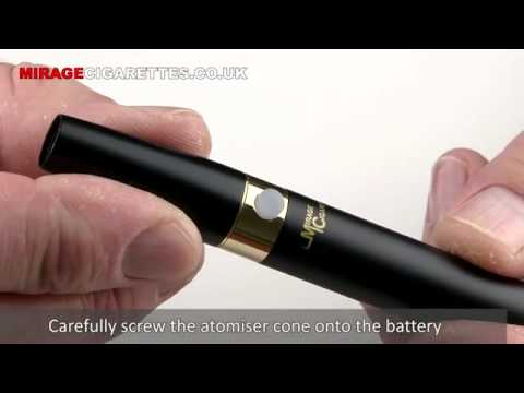 Quick-start Guide for Mirage EROS Electronic Cigarette | www.ivape.eu