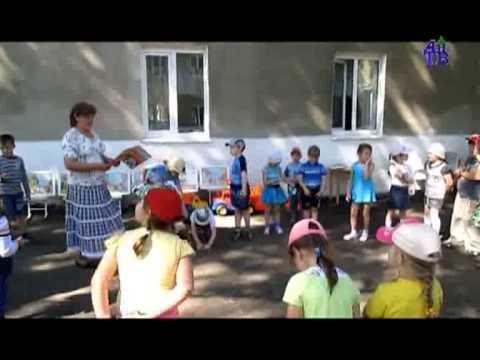 В детском саду прошла игра Светофор