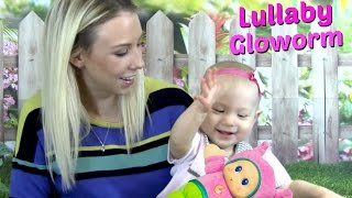 Baby Playing With Playskool Lullaby Gloworm Cute Fun Kids YouTube Video! Silly Baby Talking Playing