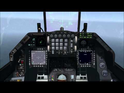 Falcon BMS 4.33 - GBU15 & AGM-84H Slammer (Man in the loop) - Academia Escuadron111
