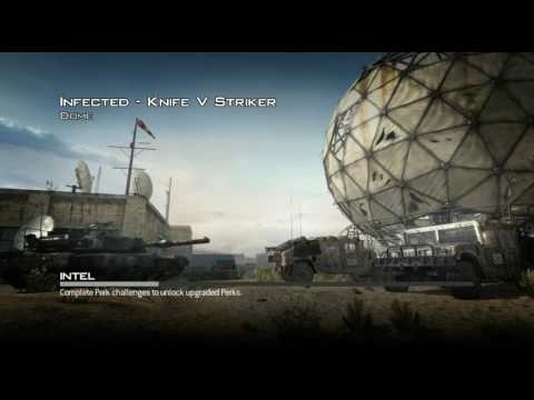 CoD Mw3 infected (many hacker) live