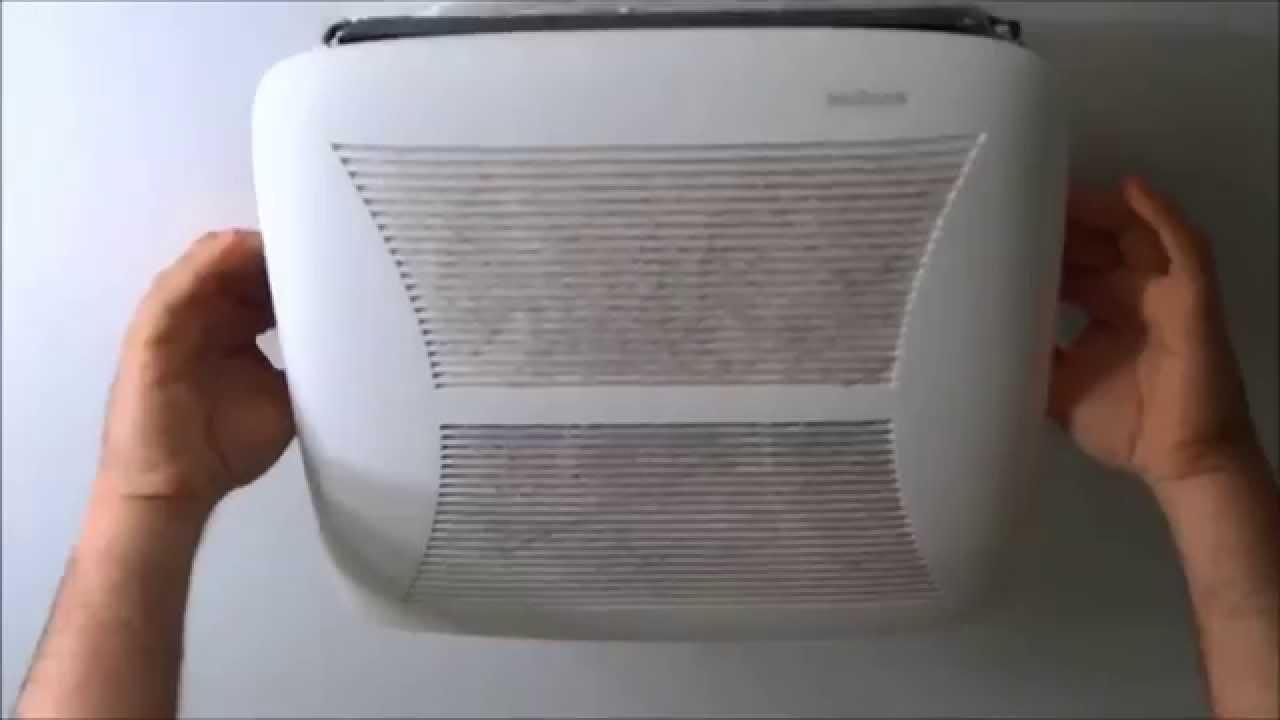 how to clean bathroom fan