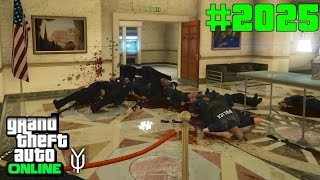GTA 5 ONLINE Brutaler Krieg gegen die Polizei #2025 Let`s Play GTA V Online PS4 2K